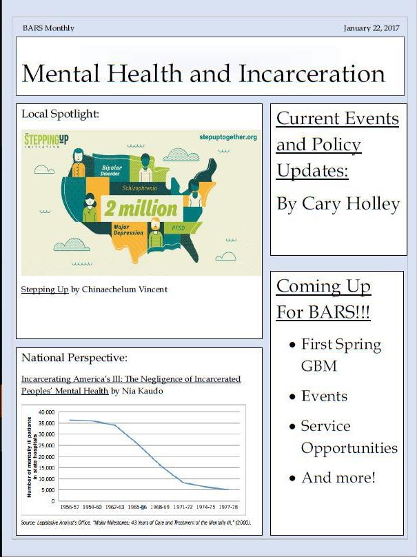 Mental Health and Incarceration
